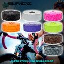 SUPACAZ[スパカズ]SUPERSTICKYKUSHsinglecolor[スーパースティッキークッシュシングルカラー]バーテープ[バーエンドプラグ][ハンドル][サイクリング][ロードバイク]自転車アクセサリー