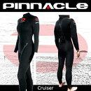 [女性用]PINNACLE[ピナクル]5mmウェットスーツ足首ファスナー付CRUISER[クルーザー]ウエットスーツ[フルスーツ]Pinnacleaquatics【RCP】