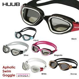 【あす楽!全国送料無料!】HUUB フーブ スイムゴーグル APHOTIC SWIM GOGGLE 調光レンズ HBAC15003/HBAC18002 トライアスロン 水中メガネ ハードケース付
