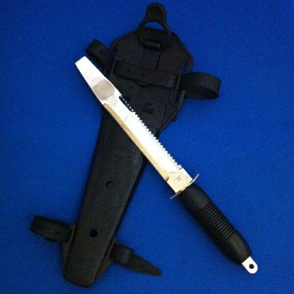 貝おこし付ナイフ[ダイバーツールナイフK-665]ダイビング用水中ナイフK665