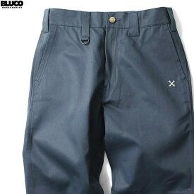 【BLUCO】 ブルコ BLUCO STANDARD WORK PANTS (AIR FORCE BLUE) [OL-004] メンズ ボトムス パンツ チノ エアフォース ブルー