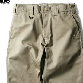 【BLUCO】 ブルコ BLUCO STANDARD WORK PANTS (KHAKI) [OL-004] メンズ ボトムス パンツ チノ カーキ