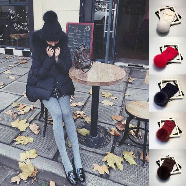 ニット帽 帽子 レディース ニットキャップ リアルファー ポンポン 毛皮 帽子 ビーニー CAP ホワイト ブラック レッド ネイビー レディース 20代 30代 40代 ファッション コーディネート オシャレ トレンド