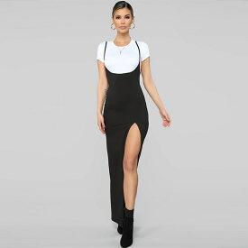 LA発!FASHION NOVA(ファッションノバ)シャツとワンピースのセット 大人カジュアル レディース edm クラブ 衣装 ダンサー イベント club 大きめのサイズ感です インポートブランド
