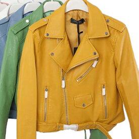 あす楽!レザージャケット バイカー 洗浄 pu レザー フェイクレザー ワンピースやドレスの上からでも可愛い レディース 20代 30代 40代 ファッション コーディネート 小さいサイズから大きいサイズまで