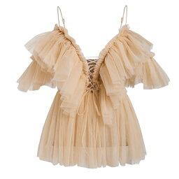 不戴比賽提高透明網絲頂端襯衫短袖透明女襯衣休閒女士斷開肩膀成熟又可愛的傾向派對節日Audrey 20幾歲的30幾歲的40幾歲的老式的日本的DIVA挑選野外派對超divacloset俱樂部