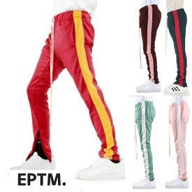 LA発『EPTM(エピトミ)』スウェットパンツ スウェット スキニー シンプル スリム ファスナー ラインストライプ 日本未入荷 インポートブランド ジーンズ スリム パンツ 20代 30代 40代 男 ファッション コーディネート