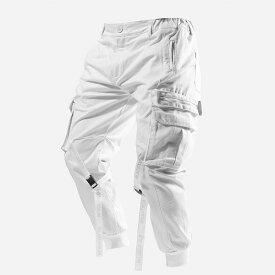 BLACKTAILOR(ブラックテイラー) インポートブランド メンズ カーゴパンツ ホワイト ジム スウェットパンツ ジョガーパンツ 20代30代40代 日本未入荷 大きいサイズあり 流行 最新 メンズカジュアル edm フェス ファッション