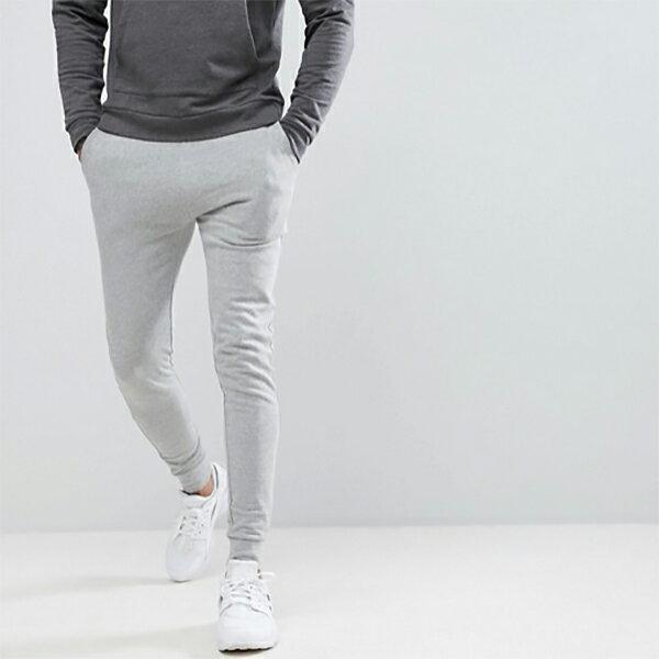 スキニー メンズ asos ASOS エイソス メンズ スーパースキニージョガー ジョガーパンツ スウェットパンツ ジョガー スーパースキニーフィット ボトム ストレッチ トレンド 大きいサイズ インポート カジュアル 20代 30代 40代 50代 お洒落 ファッション コーデ
