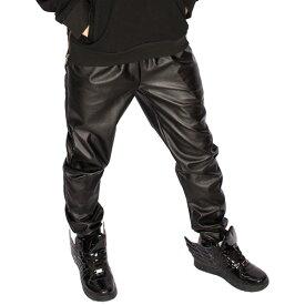 レザーパンツ フェイクレザーパンツ フェイクレザー スウェットパンツ フェイクレザー ジョガーパンツ ジョガーメンズ レディース ユニセックス 細身 20代 30代 40代 ダボっと ダンサー ダンス ストリート hiphop カジュアル ジーンズ スウェットパンツ b系