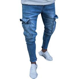 サイドポケット ジョガーデニム ジョガーパンツ シンプル 無地 ベーシック スキニー フィット パンツ スキニーデニム メンズ スキニーパンツ 大きいサイズ 20代 30代 40代 edm フェス ファッション カジュアル インポート 大きいサイズ divacloset