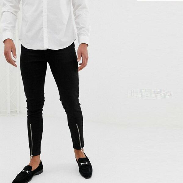 ASOS メンズ ボトム メンズ デニム ズボン パンツ/スーパーストレッチデニム 大きいサイズ インポート エクストリームスーパースキニーフィット スウェットパンツ ジーンズ ジーパン 20代 30代 40代 ファッション コーディネート 小さいサイズあり