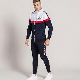 Bee Inspired Clothing(ビーインスパイアードクロージング) メンズ スウェット トラックスーツ セットアップ 上下セット パンツ フーディー ジャージ パンツ トラックスーツ 刺繍 ロゴ 日本未入荷 インポートブランド 20代 30代 40代 ジョガーパンツ ジムウェア メンズ