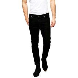 スキニー メンズ【ASOS 】【メンズ ボトム】【メンズ デニム メンズ ズボン】パンツ/ストレッチデニム【大きいサイズ】【インポート】【スーパースキニー】【黒】【ジーンズ】 【ジーパン】スーパースキニージーンズ【ブラック】