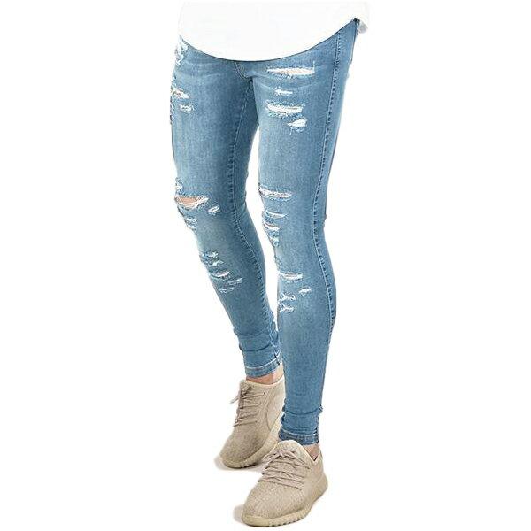 EMULATE(エミュレート)ライトウォッシュ デニム jeans スキニーデニム スキニー ジーンズ スキニーフィット 20代 30代 40代 ファッション コーディネート 大きいサイズ 日本未入荷 半袖 メンズ レディース カジュアル ユニセックス メンズ 大人 男性 女性 denim XS S M L XL