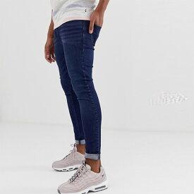 送料無料キャンペーン ASOS メンズ ボトム メンズ デニム ズボン パンツ/スーパーストレッチデニム 大きいサイズ インポート エクストリームスーパースキニーフィット スウェットパンツ ジーンズ ジーパン 20代 30代 40代 ファッション コーディネート