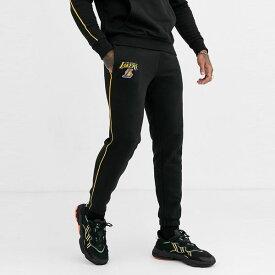 New Era asos ASOS エイソス メンズ New Era NBAロサンゼルス・レイカーズ ブラック 配管共同 ORD ジョガー ストライプ 大きいサイズ インポート エクストリームスーパースキニーフィット スウェットパンツ ジーンズ ジーパン 20代 30代 40代 ファッション コーディネート
