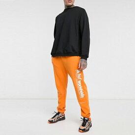 HUF ハフ asos ASOS エイソス メンズ HUF Peak オレンジ 3.0 フリース パンツ 大きいサイズ インポート エクストリームスーパースキニーフィット スウェットパンツ ジーンズ ジーパン 20代 30代 40代 ファッション コーディネート