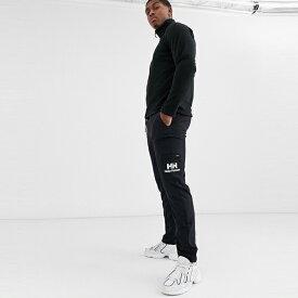 ASOSセレクト Helly Hansen asos ASOS エイソス メンズ Helly Hansen Yu ブラック ロゴ ジョギング 大きいサイズ インポート エクストリームスーパースキニーフィット スウェットパンツ ジーンズ ジーパン 20代 30代 40代 ファッション コーディネート