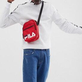 Fila フィラ ロゴ バック ショルダーバック 鞄 メンズ ユニセックス 20代 30代 40代 ファッション コーディネート オシャレ トレンド Tシャツ 半袖 インポート トレンド レディース 京都のセレクトショップdivacloset