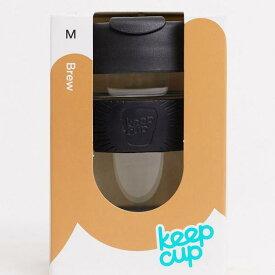 キープカップ keep cup Keep Cup カップの再利用可能なアルダーを黒いガラス12オンスに保つ レディース 女性 インポートブランド