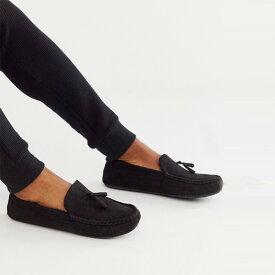 asos ASOS エイソス フェイクファーの裏地付き トレンド シューズ メンズ 靴 20代 30代 40代 ファッション コーディネート アウトフィット アウトドアー オシャレ 大人 カジュアル 小さいサイズあり