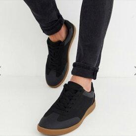 asos ASOS エイソス フェイクスエードスニーカー トレンド シューズ メンズ 靴 20代 30代 40代 ファッション コーディネート アウトフィット アウトドアー オシャレ 大人 カジュアル 小さいサイズあり 京都のセレクトショップdivacloset