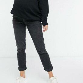 黒のニュールックマタニティママジーンズ 妊婦さん レディース 女性 インポートブランド 小さいサイズから大きいサイズまで
