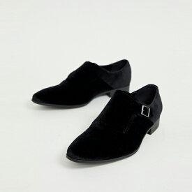 靴 シューズ asos ASOS エイソス メンズ ASOS DESIGN ブラック ソール ブラック ベルベット 僧 靴 大きいサイズ インポート エクストリームスーパースキニーフィット スウェットパンツ ジーンズ ジーパン 20代 30代 40代 ファッション コーディネート