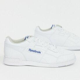 靴 シューズ Reebok リーボック asos ASOS エイソス メンズ Reebok Workout Plus 白 トレーナー 大きいサイズ インポート エクストリームスーパースキニーフィット スウェットパンツ ジーンズ ジーパン 20代 30代 40代 ファッション コーディネート