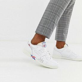 靴 シューズ Reebok リーボック asos ASOS エイソス メンズ Reebok Workout Plus Mu 白 ブランディング トレーナー 大きいサイズ インポート エクストリームスーパースキニーフィット スウェットパンツ ジーンズ ジーパン 20代 30代 40代 ファッション コーディネート