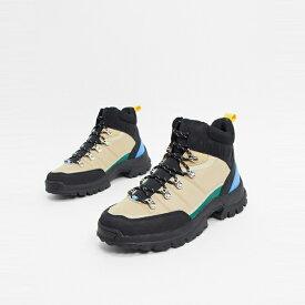 靴 シューズ asos ASOS エイソス メンズ ASOS DESIGN ポップ カラー 詳細 石 起動 ハイカーレース 大きいサイズ インポート エクストリームスーパースキニーフィット スウェットパンツ ジーンズ ジーパン 20代 30代 40代 ファッション コーディネート