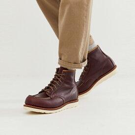 靴 シューズ Red Wing レッドウィング asos ASOS エイソス メンズ オックスブラッドレザー クラシック 6インチ MOCブーツ 大きいサイズ インポート エクストリームスーパースキニーフィット スウェットパンツ ジーンズ ジーパン 20代 30代 40代 ファッション コーディネート