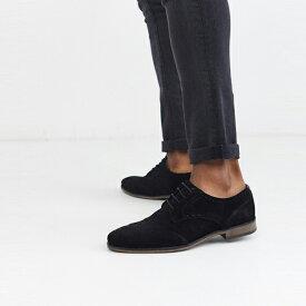 靴 シューズ ASOSセレクト River Island asos ASOS エイソス メンズ River Island ブラック スウェード ブローグ 大きいサイズ インポート エクストリームスーパースキニーフィット スウェットパンツ ジーンズ ジーパン 20代 30代 40代 ファッション コーディネート