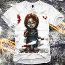 E1SYNDICATE(イーワンシジケート)CHUCKY チャッキー チャイルドプレイ child's play Tシャツ 20代 30代 ファッション コーディネート オシャレ トレンド T-シャツ