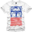 E1SYNDICATE(イーワンシジケート)ROCKY ロッキー スタローン プリント Tシャツ ハーフスリーブ 20代 30代 ファッション コーディネート オシャレ トレンド T-シャツ 日本未入
