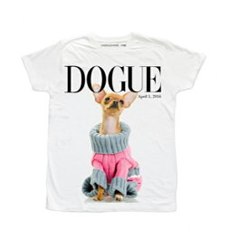 RUDE(ルード)Tシャツ ホワイト 犬 ドッグ 20代 30代 40代 ファッション コーディネート 大きいサイズ 日本未入荷 半袖 メンズ レディース カジュアル ユニセックス メンズ 大人 男性 女性 黒 白 S M L XL フェス divacloset edm フェス プリント Tシャツ フォトt