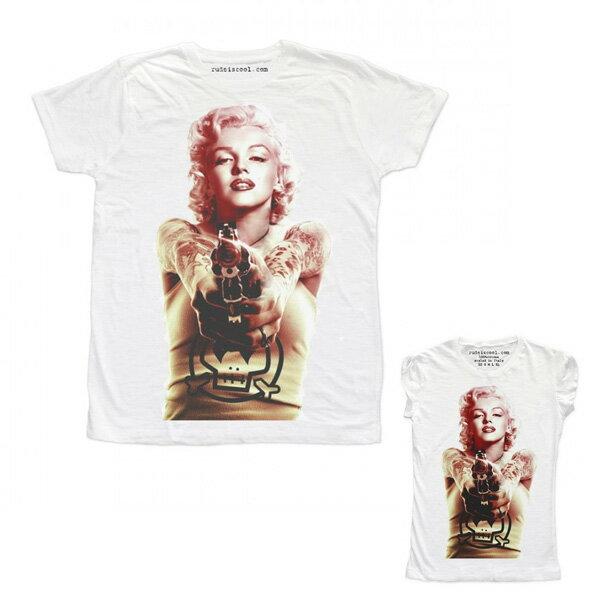 RUDE(ルード)ルード tシャツ イタリア ロック タトゥー Tシャツ ホワイト 20代 30代 40代 ファッション コーディネート 大きいサイズ 日本未入荷 半袖 メンズ カジュアル ユニセックス メンズ 大人 男性 女性 レディース プリントt