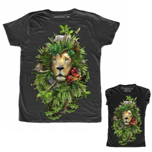 RUDE(ルード)ルード tシャツ イタリア ライオン Tシャツ 20代 30代 40代 ファッション コーディネート 大きいサイズ 日本未入荷 半袖 メンズ カジュアル ユニセックス メンズ 大人 男性 女性 レディース プリントt