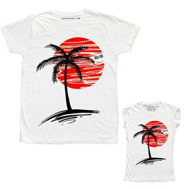 RUDE(ルード)ルード tシャツ イタリア ロック ヤシの木 Tシャツ 20代 30代 40代 ファッション コーディネート 大きいサイズ 日本未入荷 半袖 メンズ カジュアル ユニセックス メンズ 大人 男性 女性 レディース プリントt ホワイト divacloset edm フェス プリント Tシャツ