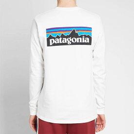 PATAGONIA パタゴニア ホワイト メンズ コットン トップス プルオーバー メンズ 長袖 ロングスリーブ フェス トレンド インポート 大きいサイズあり 流行 最新 メンズカジュアル カルバンクライン 小さいサイズあり