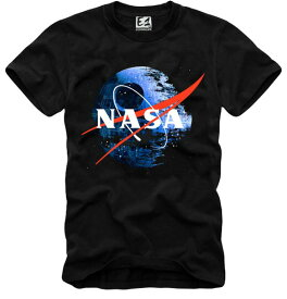 E1SYNDICATE(イーワンシンジケート)NASA tシャツ メンズ プリントtシャツ フォトT フォト プリント Tシャツ 20代 30代 e1 コーディネート オシ・ャ・トレンド T-シャツ 日本未入荷 インポート シンジケート 半袖 ホワイト 白 セレクトショップ diva closet 他と被らない
