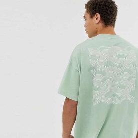 ASOS メンズ トップス ハーフスリーブ Tシャツ カラーブロック レギュラーフィット クルーネック 20代 30代 40代 ファッション コーディネート XXS〜XXXL オシャレ トレンド Tシャツ 半袖 インポート トレンド