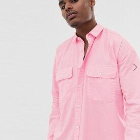 ASOS メンズ トップス 長袖 pink シャツ ブラウス オーバーサイズ 20代 30代 40代 ファッション コーディネート小さいサイズから大きいサイズまで オシャレ トレンド Tシャツ インポート トレンド 京都のセレクトショップdivacloset