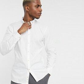 セリオ オックス フォードシャツ ホワイト 長袖 インポート 大きいサイズ 20代 30代 40代