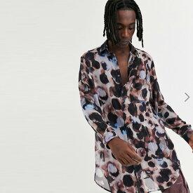 ASOS DESIGN レギュラー 水彩 シャツ 20代 30代 40代 ファッション コーディネート オシャレ カジュアル