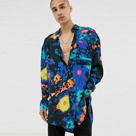 ASOS DESIGN カモフラージュ ユーティリティ シャツ 20代 30代 40代 ファッション コーディネート オシャレ カジュアル