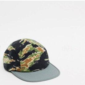 迷彩 HUF ボレー キャップ帽子 帽子 20代 30代 40代 ファッション コーディネート オシャレ カジュアル