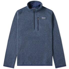 PATAGONIA ベター セーター 1/4 ジップ ジャケット 20代 30代 40代 インポート ブランド