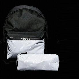 反射ロゴ入り Nicce バックパック ペンケース 20代 30代 40代 ファッション コーディネート インポートブランド